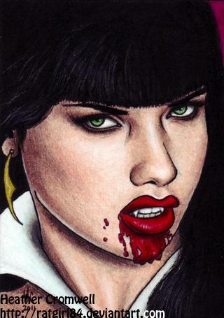 Vampirella by HeatherCromwell